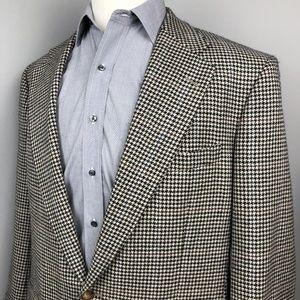 Ralph Lauren Polo Sport Coat Cream Houndstooth